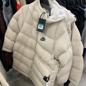 Nike Nude Down Filled Puffer Jacket